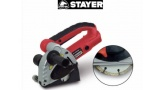 Scanalatore CD125 Stayer con due dischi diamantati da 125mm