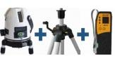 Livello laser SEB multilinea EK300 + Ricevitore + Tripode